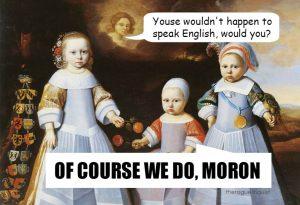 Beginnen Nederlanders Het Engels Beu Te Worden Neerlandistiek