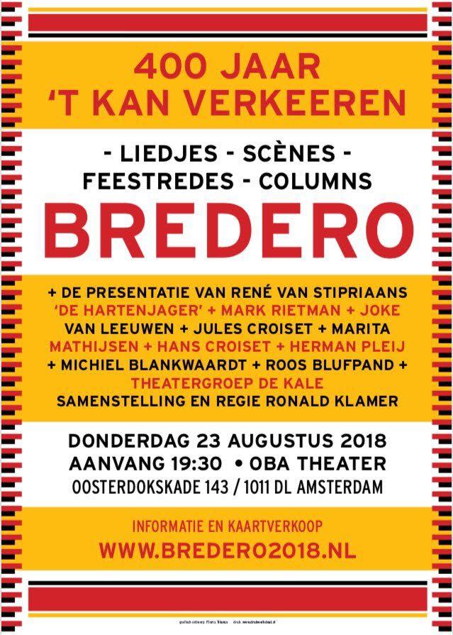 Klik voor het programma van de Bredero-avond